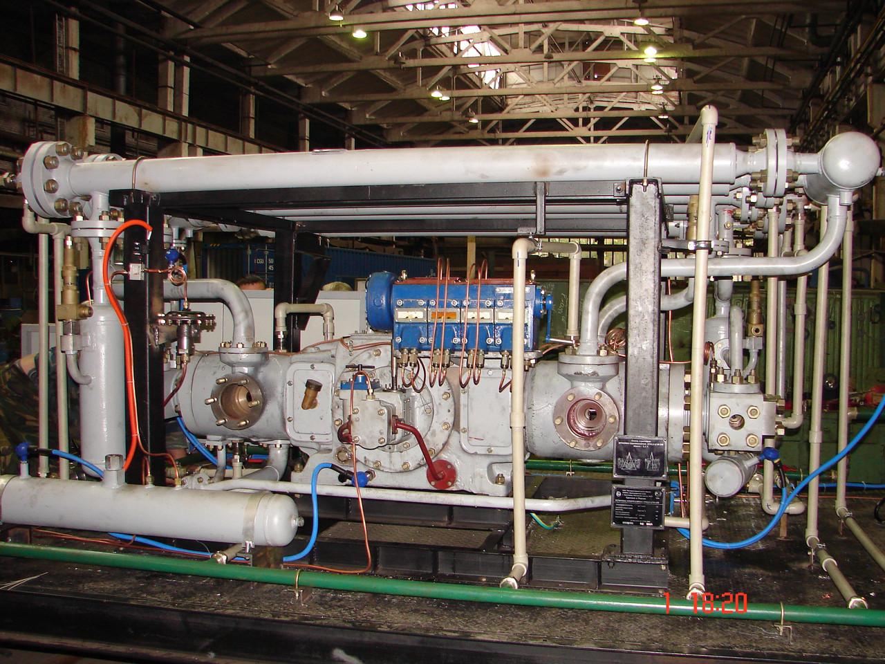 Б.1.23 Эксплуатация стационарных компрессорных установок, воздухопроводов и газопроводов